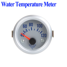 Water-Temperature-Meter-Gauge Sensor Auto-Car 52mm with for 2-40--120celsius-Degree Blue-Light