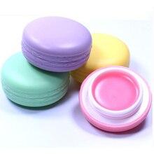 Новинка. Увлажняющий, сладкий бальзам для губ в форме конфет Макарун, 9 грамм, на выбор 4 цвета