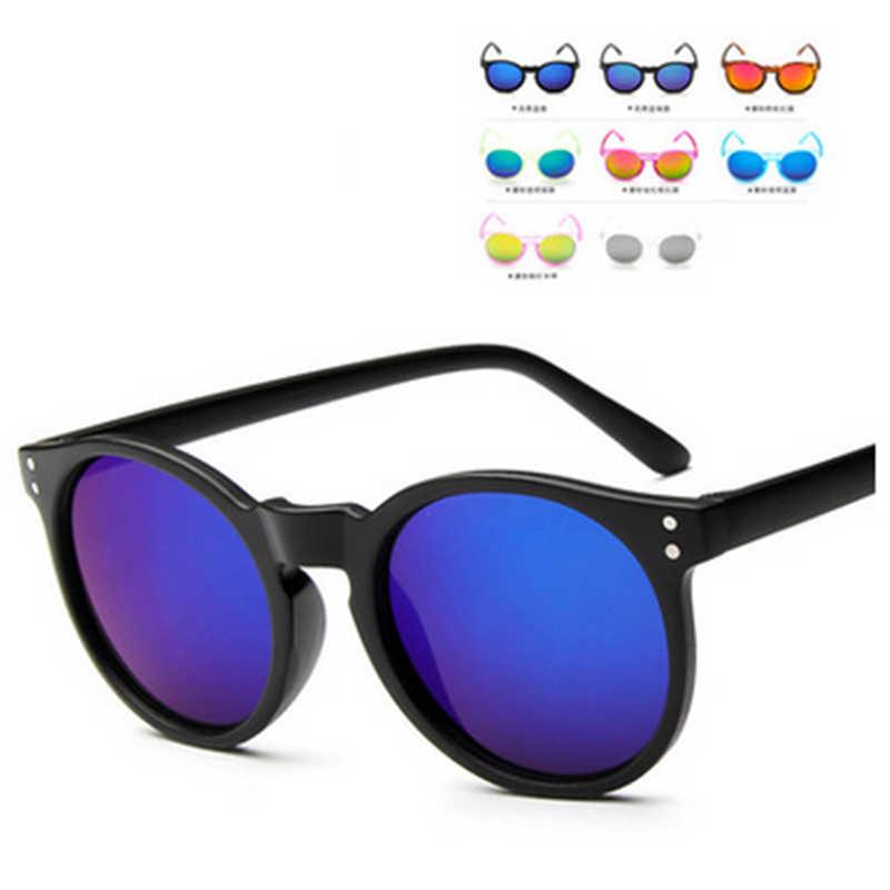 85ee11beab UCOOL Mecol 2018 Kids Sunglasses Children Boys Girls Sun Glasses Child  Plastic Frame Rivet Colorful Goggles