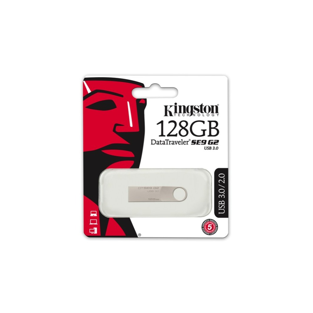 Kingston DTSE9G2/128 ГБ память USB 128 ГБ (USB 3,0) плата