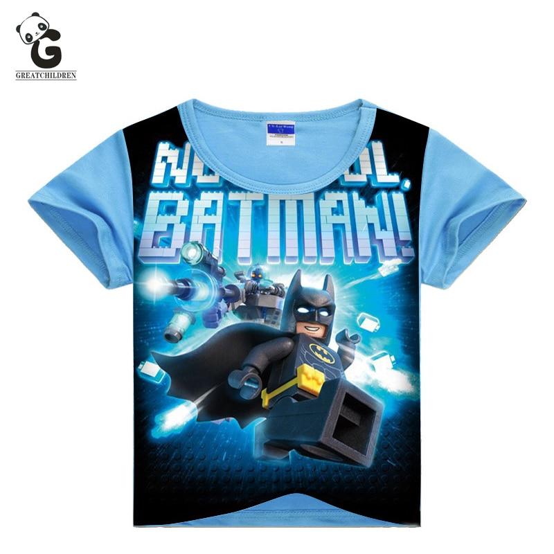 Boy T Shirt Bobo Choses Children Clothing Boys T-Shirts Short Sleeve Legoe Batman Kids shirt Cartoon T-shirt for Boys Polo Shirt