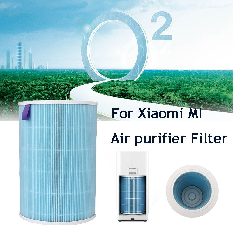 Air Purifier Cartridge Filter Element HEPA For Xiaomi 1/2/Plus Air PurifierOriginal Xiaomi Air Purifier Filter Parts Air CleanerAir Purifier Cartridge Filter Element HEPA For Xiaomi 1/2/Plus Air PurifierOriginal Xiaomi Air Purifier Filter Parts Air Cleaner