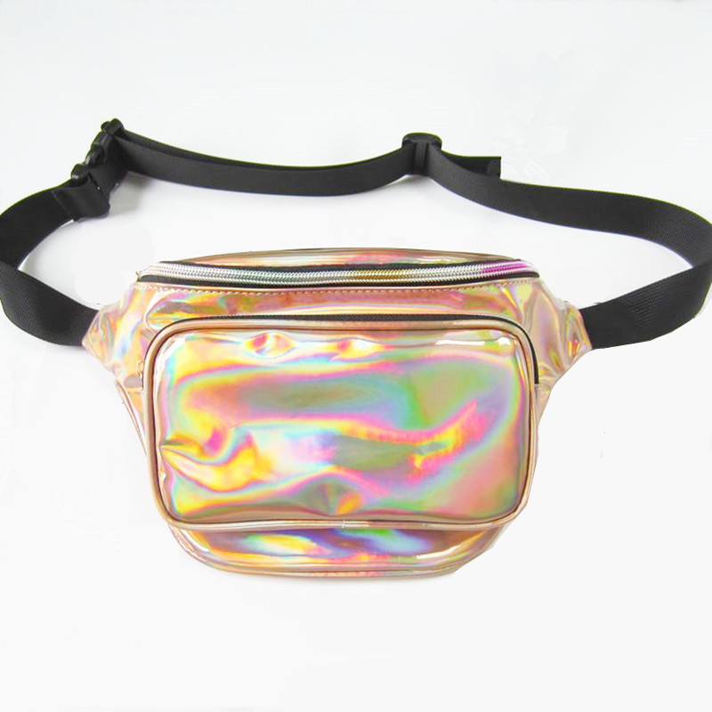 Thighbags fanny pack for women PU laser waist bag motorcycle leg bag leather for women's Belt buckle heuptas a case for phone цена