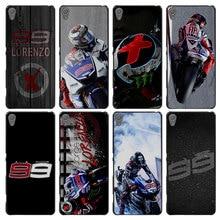 Jorge Lorenzo No 99 font b motorcycle b font Style Case font b Cover b font