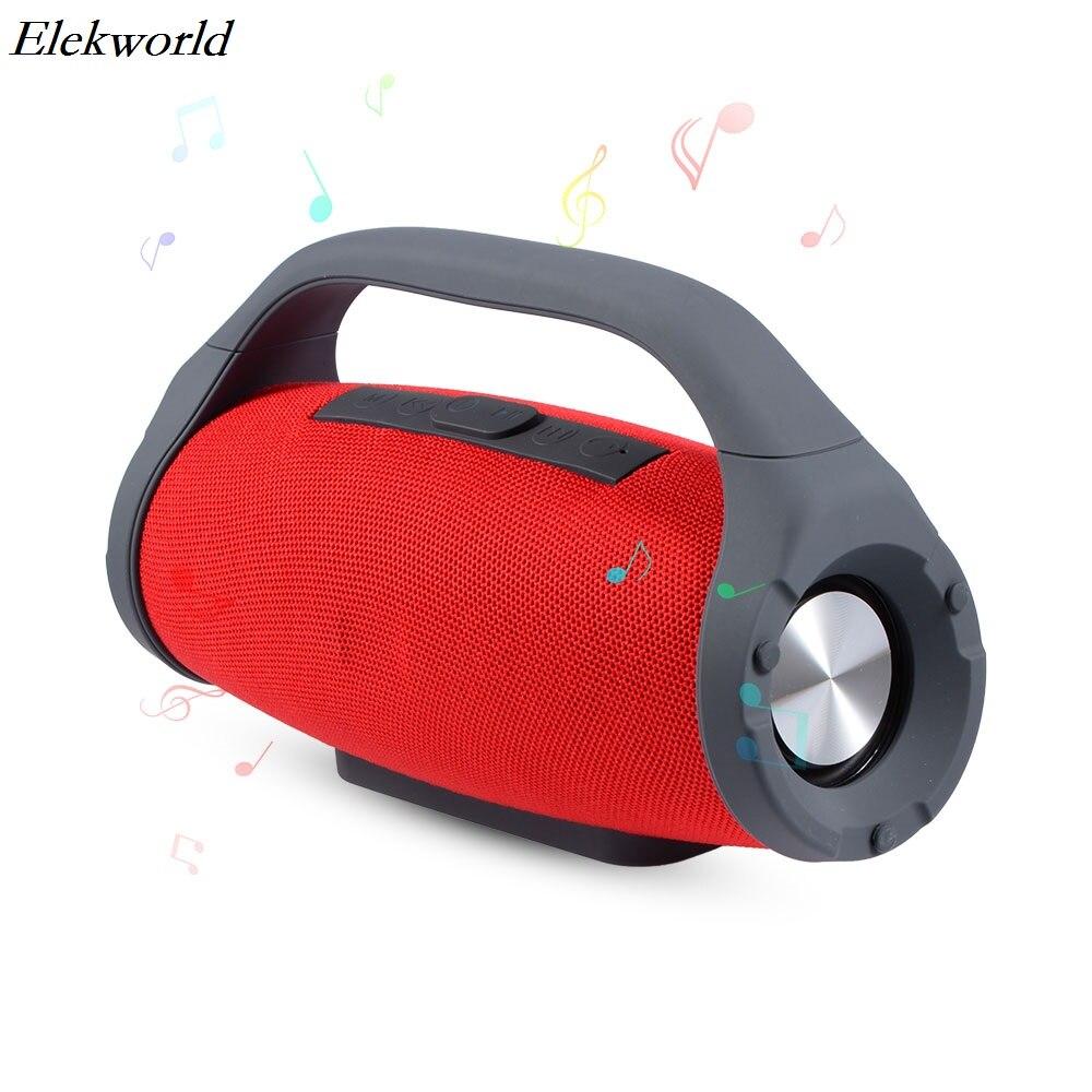 BS-218 Subwoofer Handheld Fabrics TWS True Wireless Stereo HiFi Bluetooth Speaker support Calls/FM/AUX/TF/Power Bank