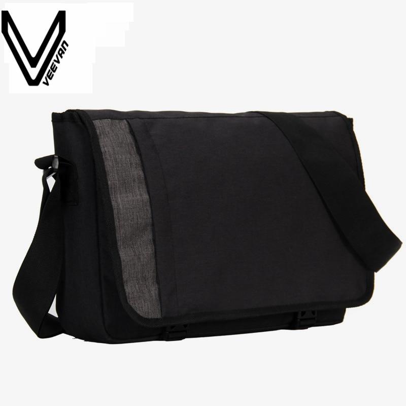 VEEVANV Designer Men's Buisness Crossbody Bag Attache Laptop Case Office Briefcase Postman Men Messenger Bag Casual Shoulder Bag