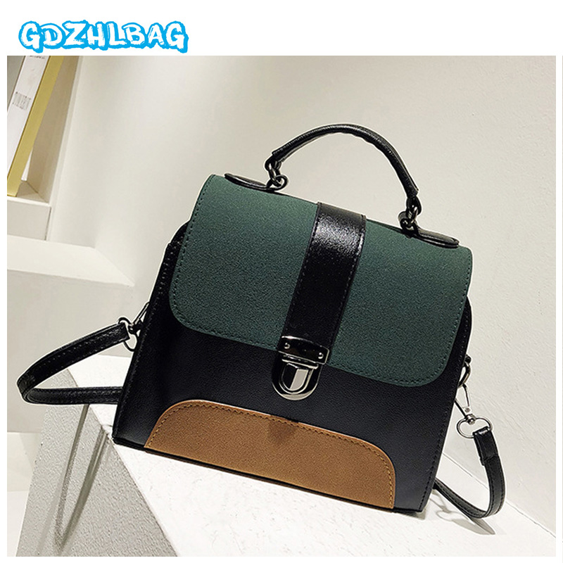 Small Ladies Messenger Bags Leather Mini Shoulder Bags Women Crossbody Bag for Girl Brand 2018 High Quality Women Handbags D006 2017 fashion all match retro split leather women bag top grade small shoulder bags multilayer mini chain women messenger bags