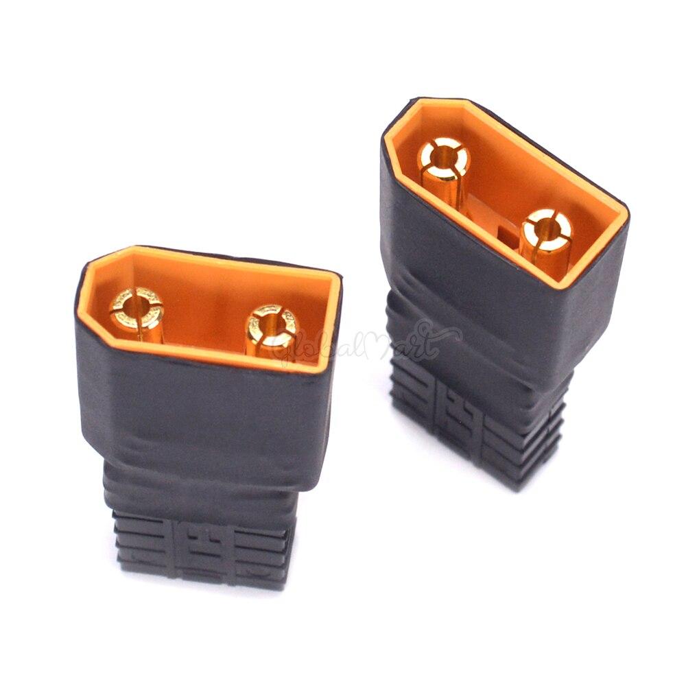 XT90 Разъем Женский/мужской с 14AWG провода/Traxxas разъем TRX стиль для RC Lipo батарея конвертер адаптер разъем