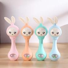 Music Sound Light Shaking Toys Baby toys Cute Cartoon Hand Bells Rattles Newborn Infant Early Educational for 0-12M