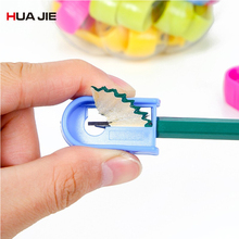 Plastic Candy Color 36Pcs Pencil Sharpeners Cutter Knife Desktop Standard Pencil Cutting Machine Student Gifts School Supplies цена