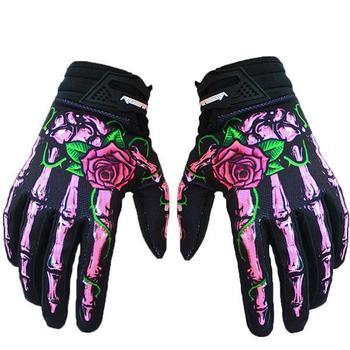 Weimostar-guantes de ciclismo de Gel de sílice para dedos completos, para deportes...