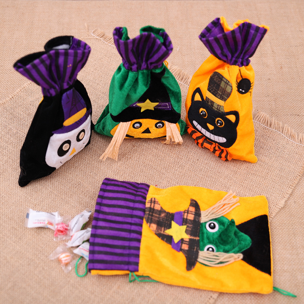 Gift packaging Halloween Festive decoration storage Cute