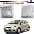 Car Cover UV Anti Snow Sun Rain Resistant Protection Cover For Toyota Vitz Free Shipping !