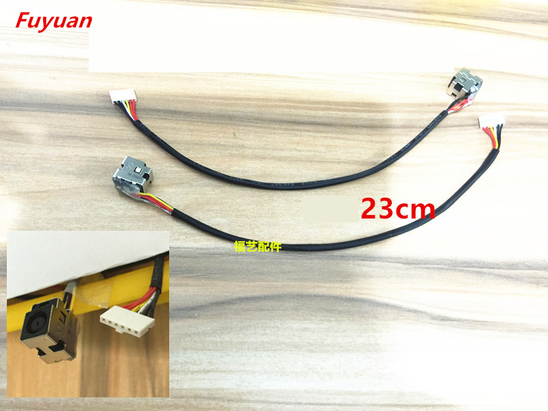 Original Brand New DC Jack Power Cable DC Charging Cable Fit For HP CQ61 CQ71 DV5 DV6 -1000 2000 3000 brand new dc power jack for asus g71 g71g g71gx g73 g73j g73jh g73jw g73sw x83 x83v x83vm m50vn m50s m50v m51v 2 5mm