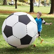 60 см/75 см/107 см/150 см гигантский надувной пляжный мяч для взрослых детей, водные шары, волейбол, футбол, вечерние игрушки для детей