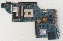 45 days Warranty For hp DV6 DV6-6000 665345-001 laptop Motherboard for intel cpu with HM65 HD6490/1G non-integrated graphics