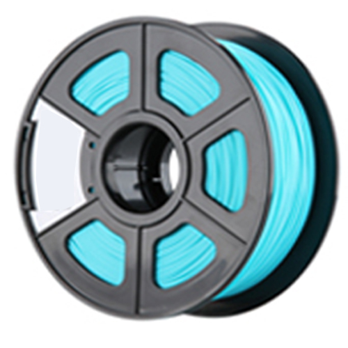 New 3D Printer Filament ABS/PLA 1.75mm/3.0mm for 3D Printer 1kg/2.2lbs Material:PLA Size:1.75mm Color:Cyan 3d printer 1 75mm abs filament black 150g