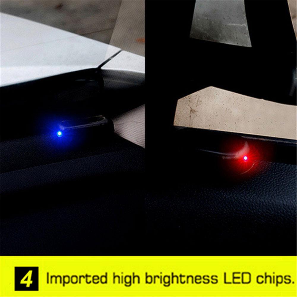 Vehemo поддельная вспышка Противоугонная Предупреждение льная лампа Противоугонная Аккумуляторная Автомобильная охранная сигнализация свет солнечной энергии