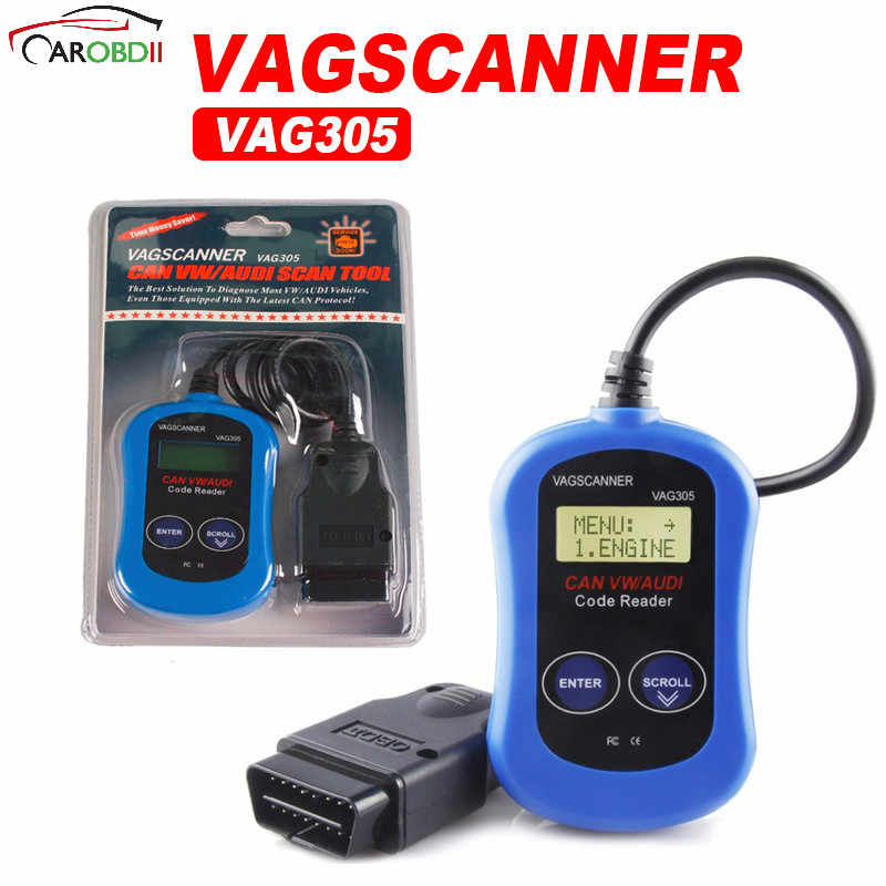 Detail Feedback Questions about Car Obd II Vag305 Code Reader Vag