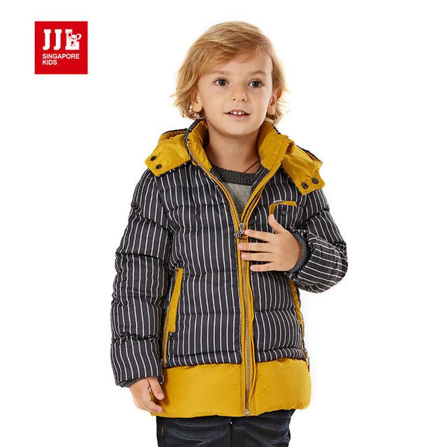 Meninos jaqueta de inverno crianças casaco com capuz moda meninos blusão parka crianças parka inverno boa qualidade homesone