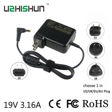 19V3.16A direct charger FOR ACER Laptop computer energy adapter pocket book energy 60W cost Laptop computer Battery Charger and one AC Plug
