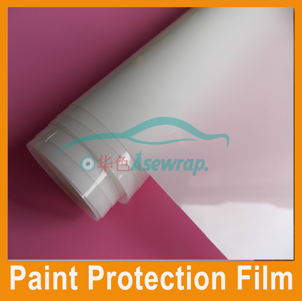 Free shipping high grade 3 Layers car Paint Protection Film Car Sticker PPF Transparent film for WRAPS Size:1.52x15m/roll