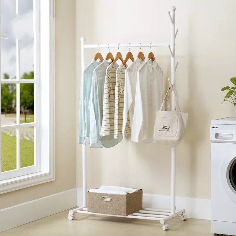 simple hanger floor bedroom home economical clothes rack landing simple modern coat rack - Modern Coat Rack