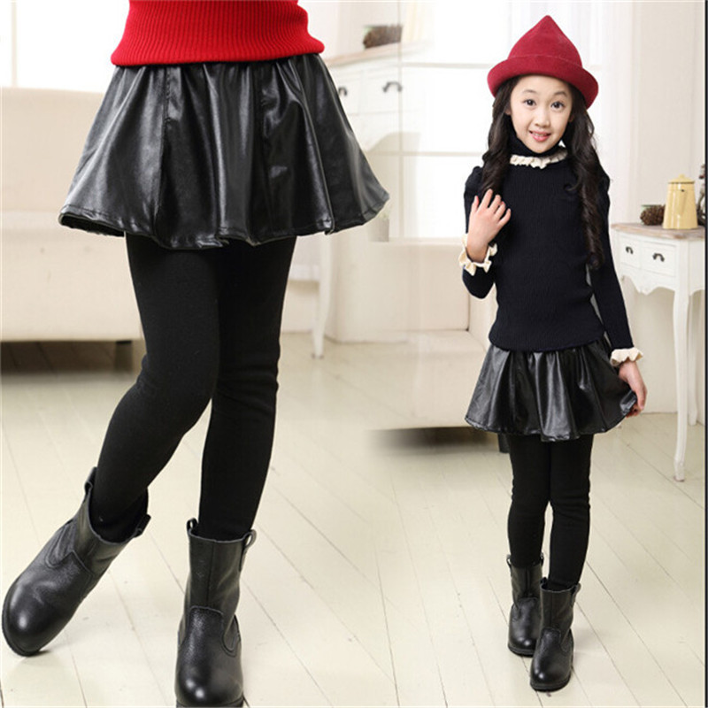 Online Shop Fashion Autumn/Winter Baby Girls Warm Leggings Kids ...