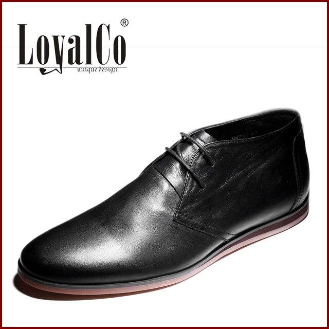 2014 New Man Black Flat Shoes Fashion Dress Shoes Men Solid Lace Up
