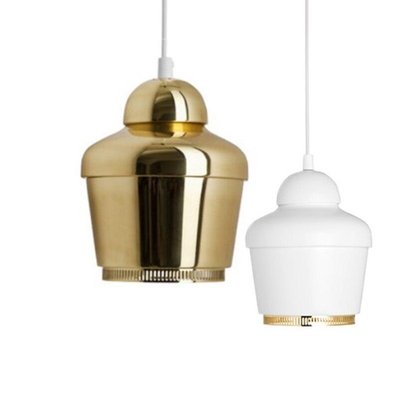 Moderne Artek Hanglampen Voor Keuken Eetkamer Metalen Mini goud Lamp Armaturen E27 110 V 220 V Home Verlichting Lamparas 2016 nieuwe - 6