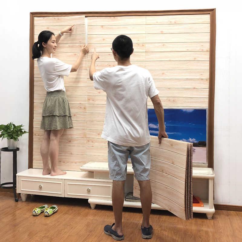 TV sfondo muro di 3D stereo adesivi da parete adesivi carta da parati autoadesiva anti-collisione semplice e moderno, soggiorno decorazione della stanza