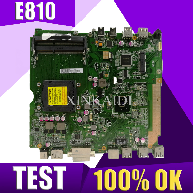 XinKaidi  Original All-in-one motherboard For ASUS E810 mainboard 100% Test ok WorksXinKaidi  Original All-in-one motherboard For ASUS E810 mainboard 100% Test ok Works