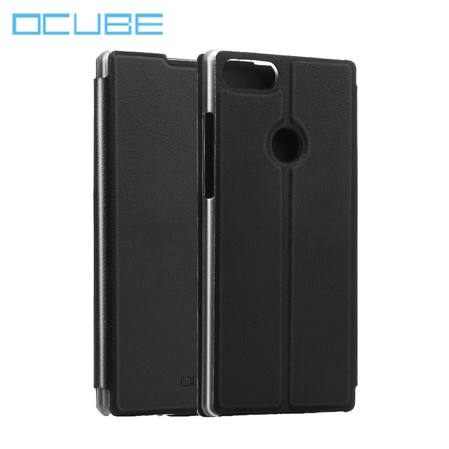 ocube Vernee Mix 2 Case Cover 6.0 inch Flip PU Leather Cases Cushion Anti-knock Protection Cover For Vernee Mix 2 Mobile Phone