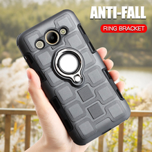 Armor Case For Huawei Y3 2017 Silicone Shockproof Phone Case For Huawei Y3 2017 CRO-L02 CRO-L22 Luxury Ring Holder Back Cover ремни narvin 340544 cro tobacco