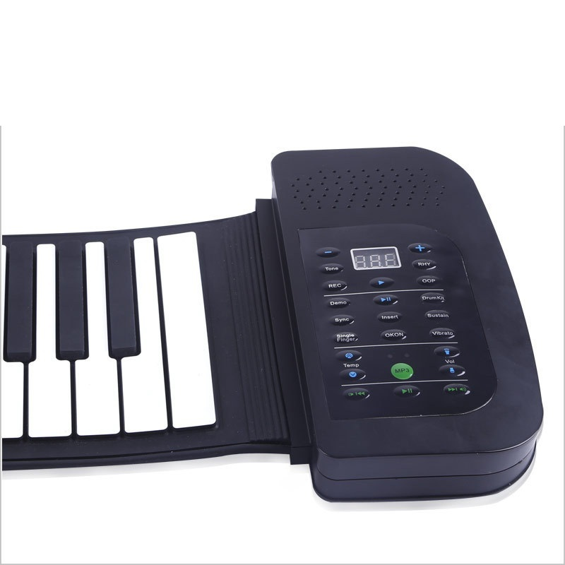 US $141 66 |HOT 88 Key Multifunctional Piano Teaching Electronic Organ USB  Folding MIDI Controller Music Keyboard for Student Beginner Kid-in