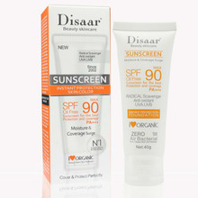 Beauty Skin Care  40g Facial Sunscreen Cream Spf Max 90 Oil Free Radical Scavenger Anti Oxidant