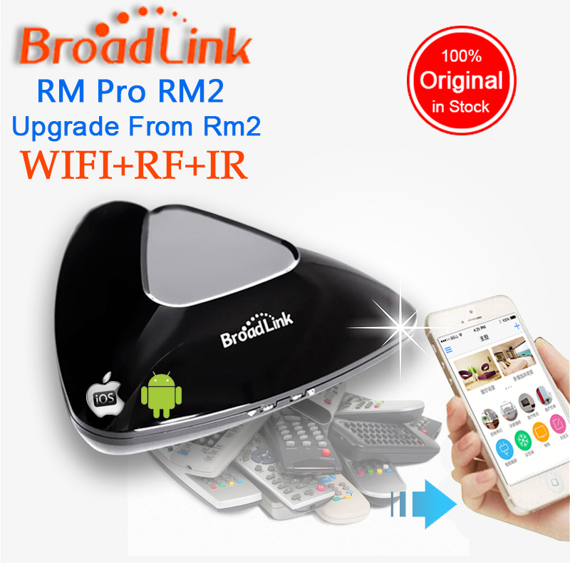 Broadlink RM33 RM Pro +, อัตโนมัติสมาร์ทหน้าแรกไร้สายอัจฉริยะอัจฉริยะรีโมทคอนโทรล, WIFI + IR + RF switch สำหรับ pad IOS Android-ใน รีโมทคอนโทรล จาก อุปกรณ์อิเล็กทรอนิกส์ บน AliExpress - 11.11_สิบเอ็ด สิบเอ็ดวันคนโสด 1