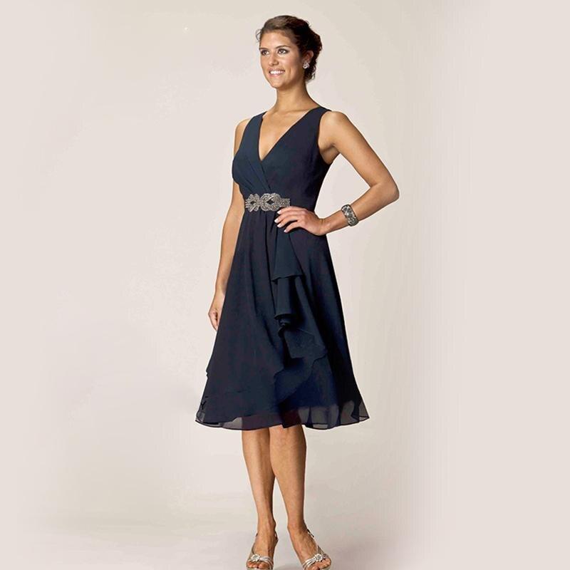 Simple Elegant 2015 Women Summer Wedding Dresses Flowing: Online Buy Wholesale Summer Dresses Mother Groom From