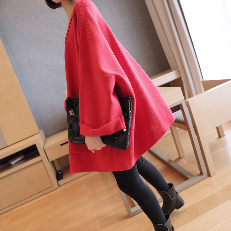 Automne gray Taille De Paresseux Veste red Long Pull Ample Sweat Vent Grande À Capuche Green Black army Chandail Paragraphe Dames 2018 ATtqXwX