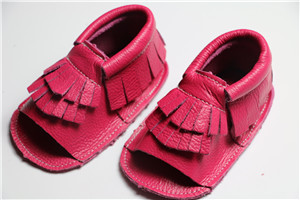 Wholesale 200 pairs/lot handmade Genuine Leather Baby Moccasins Soft Baby Shoes first walker Shoes Footwear summer infant shoes