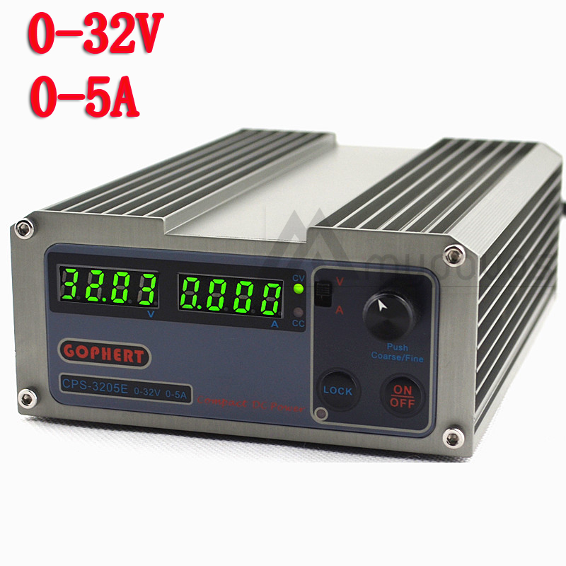 New CPS 3205E Arrivals precision Digital Adjustable MINI DC Power Supply OVP OCP OTP 32V5A 110V