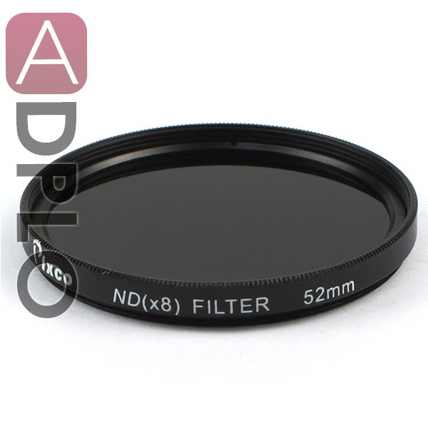 Pro 52mm 52 Neutral Density ND8 Filter Suit For Canon /Nikon Camera