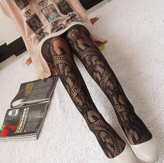 26 styles Women Sexy Fishnet Pattern Jacquard Leg Warmers Stockings Pantyhose Tights fancy night club 1pcs dww05