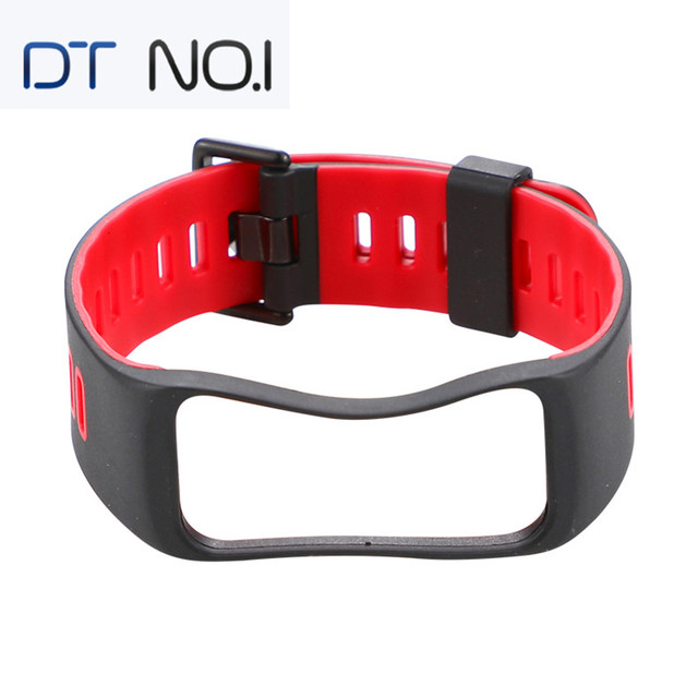 DTNO.1 4 color Red Blue Green Black wristband Smartwatch straps Special for NO.1 F4 GT1 Smart watch Bands Bracelet Straps