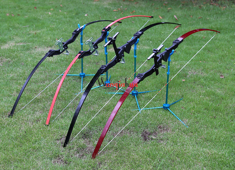 Straight Bow Archery Competitions Fitness 2 Color 30lbs Recurve Bow American Hunting Bow dmar recurve bow archery stabilizer balance rod v bar damping rod shock absorber bow hunting accessories
