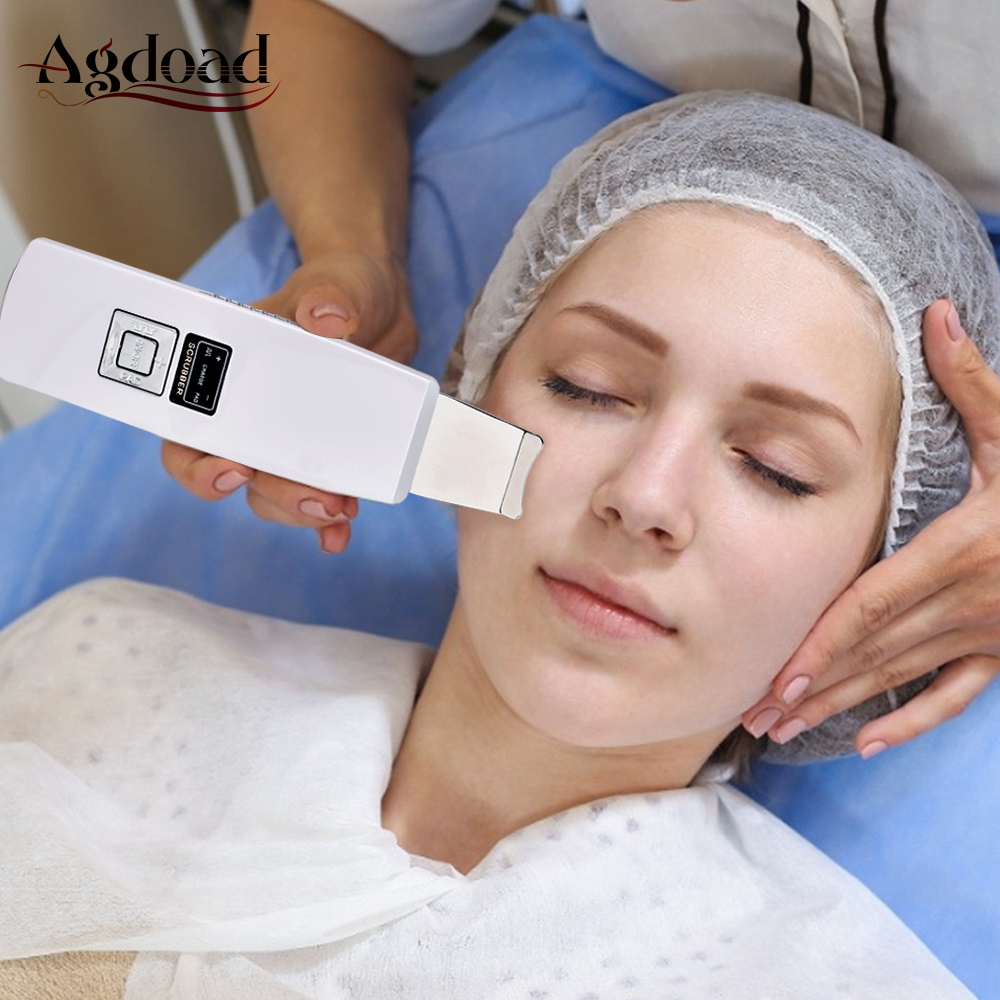 Ultrasonic Skin Scrubber Deep Skin Cleansing With Peeling Face Dirt Blackhead Reduce Wrinkles And Spots Facial Whitening Lifting