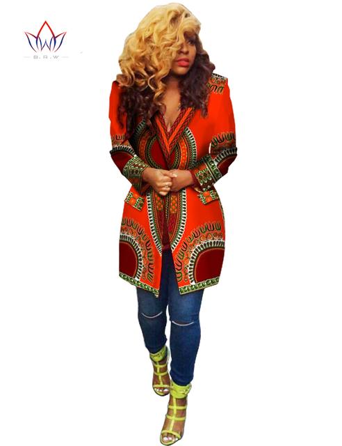 2017 nova primavera verão casaco dashiki africano áfrica clothing blusa tradicional manga longa design de moda blazers byw wy728