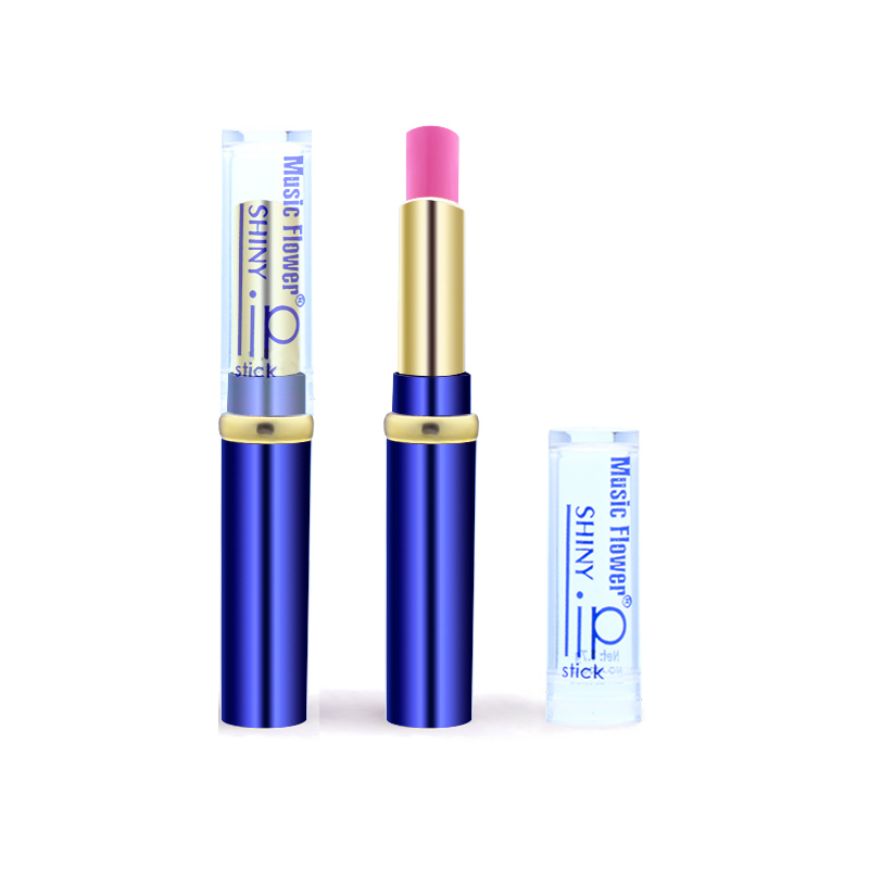 Music Flower 12 Colors to Choose Sexy Rose red Lip Gloss Matte lipstick Fashion Women Makeup Waterproof Cosmetics lips lipstick 6