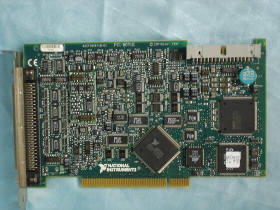 Pour utilisé USA NI PCI-6071E/PCI 6071E Acquisition de données carte DAQ