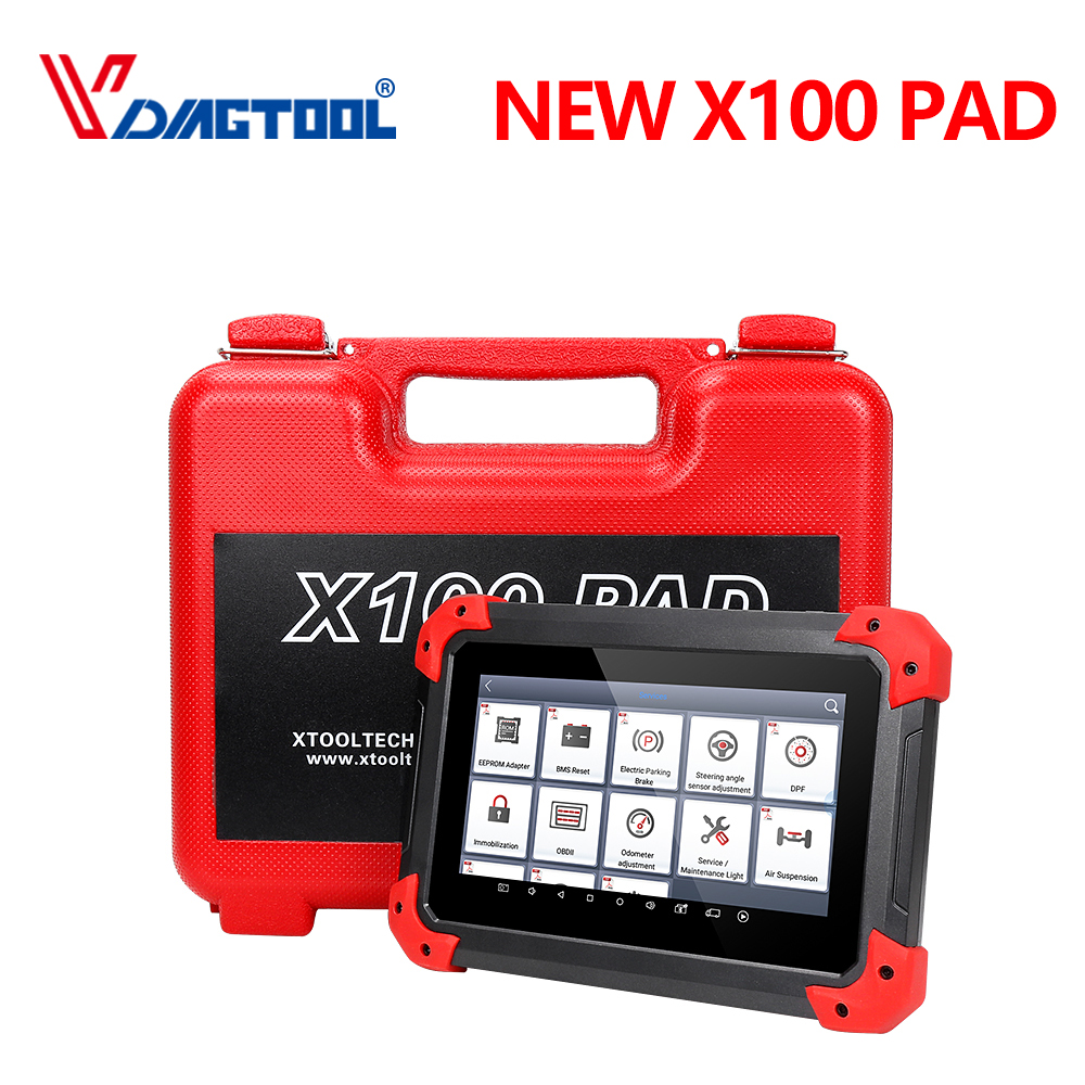 100 Original XTOOL X100 PAD Same Function as X300 X100 Pad Auto Key Programmer with Special